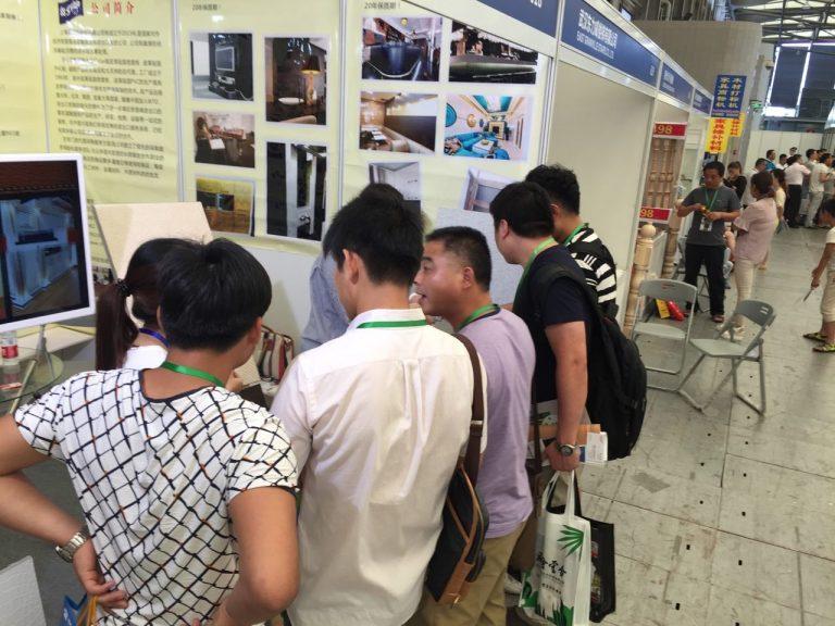 Charmineh Choob Star in Shanghai Fair 2016