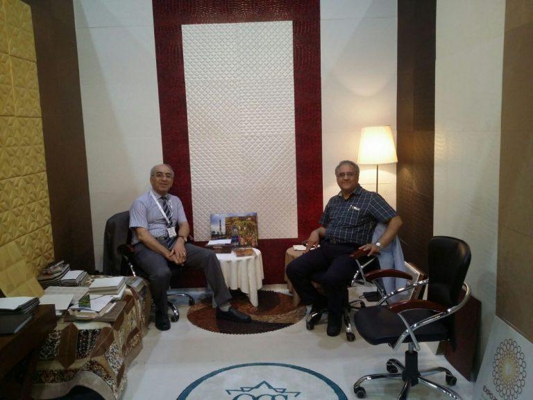 حضور چرمینه چوب استار در نمایشگاه Middle East Covering 2017 دبی